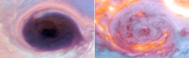 تتضافر التلسكوبات والمركبة الفضائية للتحقيق العميق في جو المشتري