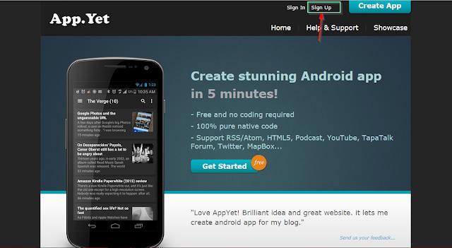 انشئ تطبيق اندرويد لأي موقع او مدونة والربح من خلاله