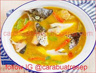 Resep Palumara Khas Makassar Sajian Olahan Ikan Bandeng Sederhana Spesial Asli Enak CARA MEMBUAT PALUMARA KHAS MAKASSAR