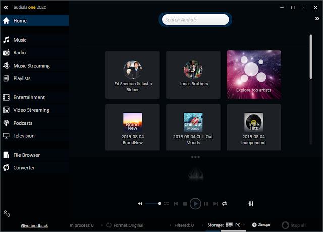 Screenshot Audials One Platinum 2020.0.55.5500 Full Version