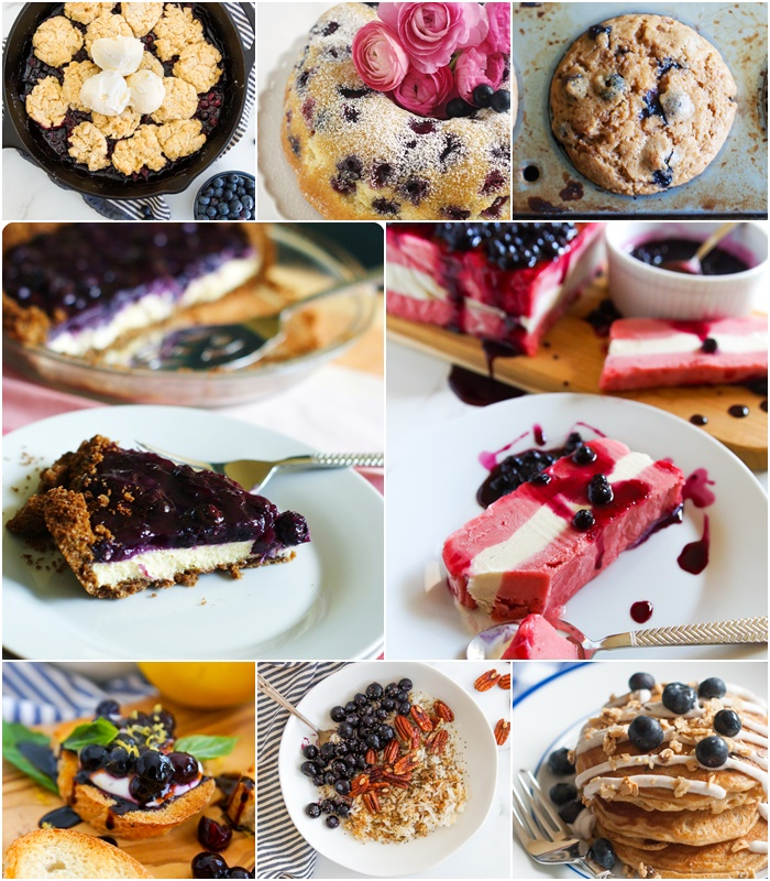 8 Blueberry Recipes for Summer