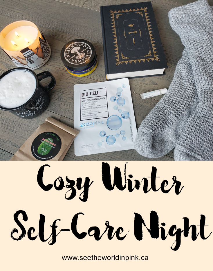Cozy Winter Self-Care Night