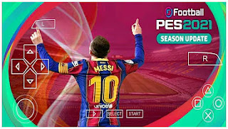 Download eFootball PES 2021 PPSSPP Commentator Peter Drury & Graphics HD Camera PS5