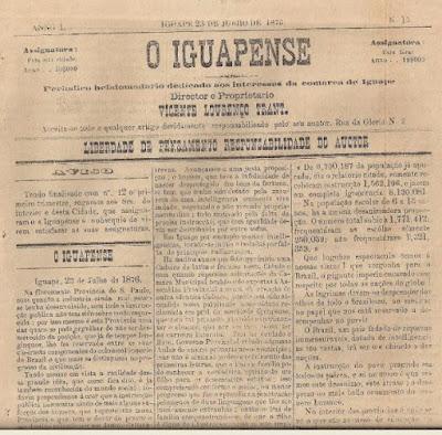 O primeiro jornal do Vale do Ribeira