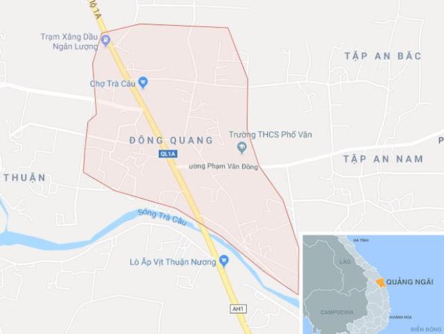 Tắm sông nam sinh lớp 8 huyện Đức Phổ rơi vào vực sâu chết đuối