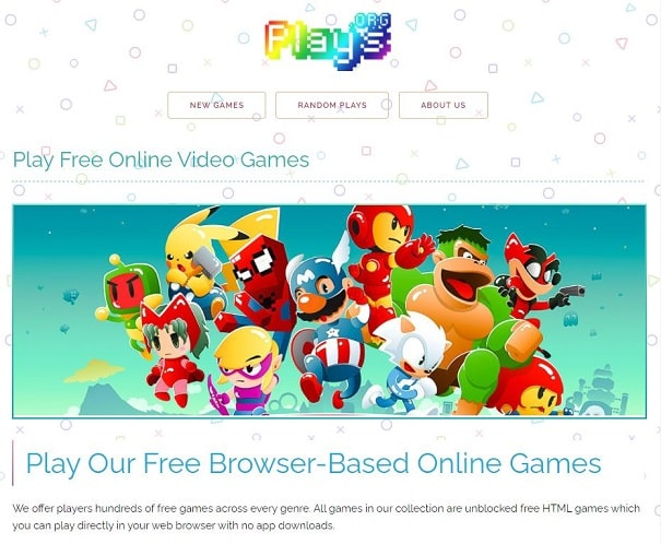 Free Online Games Plays.Org