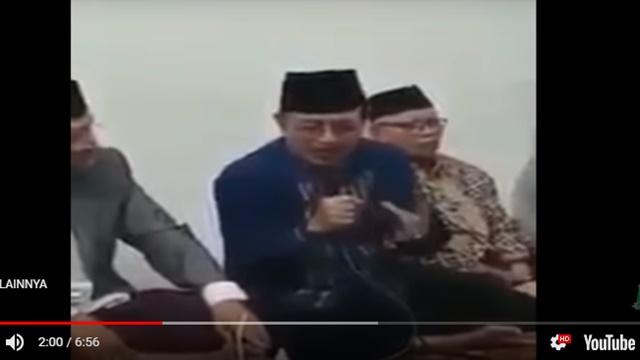 Beredar Video 'Main Cantik' Pilpres 2019, Prof. Zahro: NU Dimakan Parpol dan Diseret ke Tempat Sampah