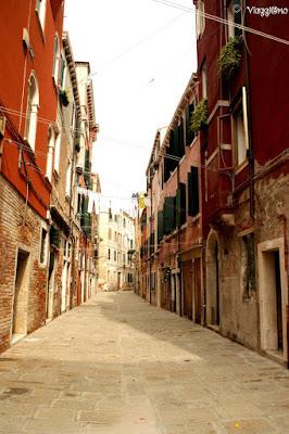 Il sestiere di Castello a Venezia e le sue tipiche vie
