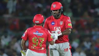 Chris Gayle 79 - KXIP vs RR 4th Match IPL 2019 Highlights
