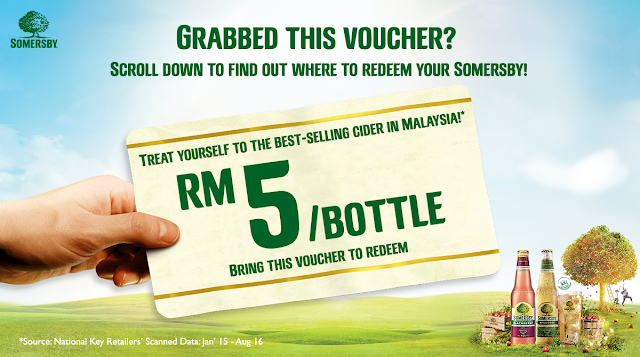 Somersby Apple Cider Discount Voucher