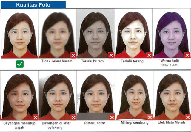 kualitas foto visa china
