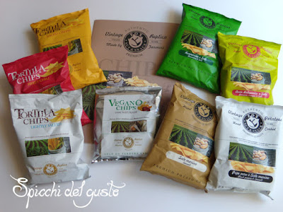 Patate chips e vegane Fox nut e snack bar italia