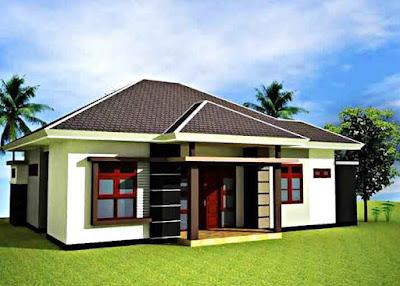 Desain rumah minimalis modern 1 lantai 3 kamar tidur