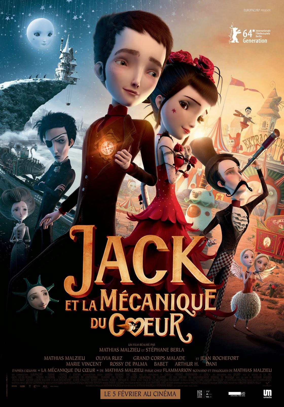 Jack And The Cuckoo-Clock Heart แจ็ค หนุ่มน้อยหัวใจติ๊กต็อก [HD]