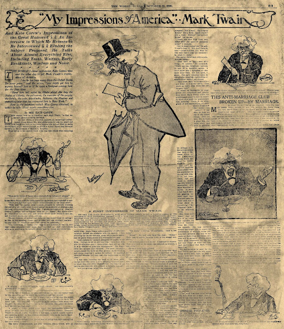 Image result for to the person sitting in darkness twain