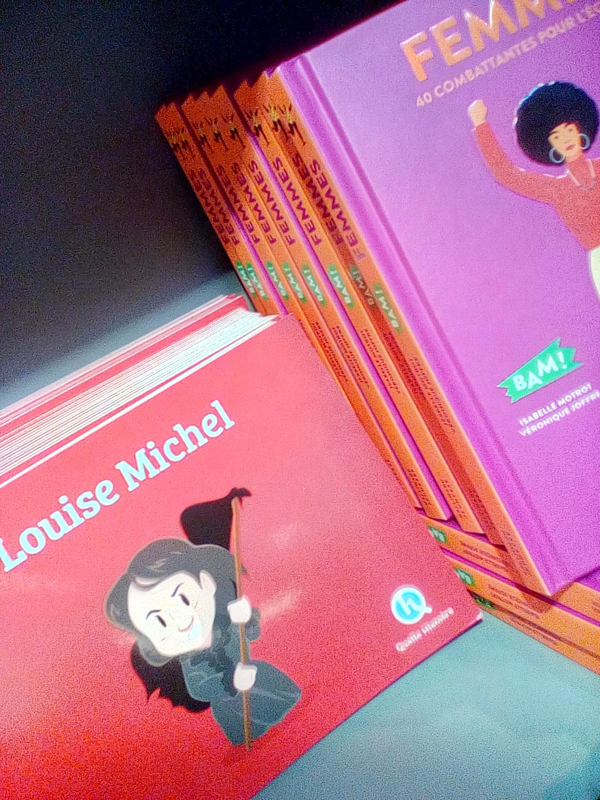 H αγαπημένη μου Λουίζ Μισέλ έγινε κόμικς,καρτούν,φιλμ χαρακτηρων,θέατρο κ.α
