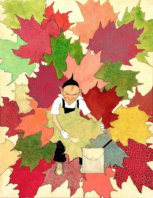 Maxfield Parrish autumn