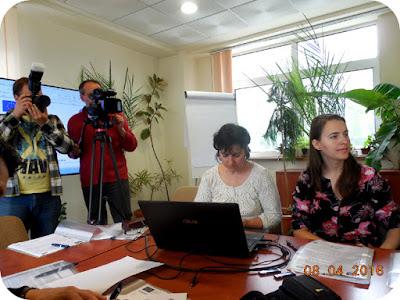 Diana Nedelcu prezinta proiectul