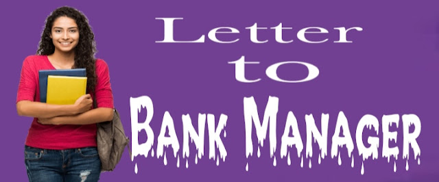 Letter to the bank manager to issue a new Pass Book