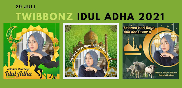 Kumpulan Gambar Twibbon Idul Adha 1442 Hijriyah 2021