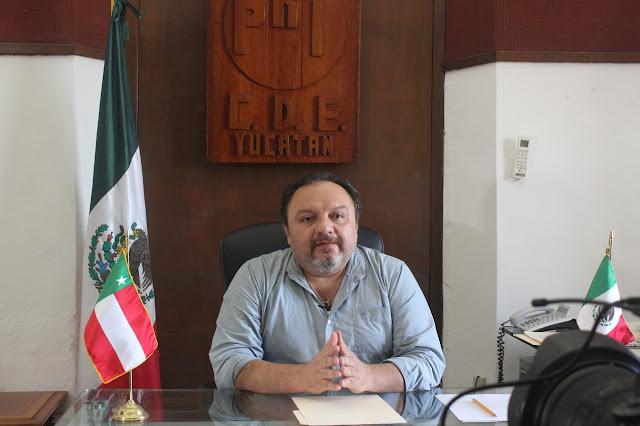 Presidente del Partido Revolucionario Institucional en Yucatán (PRI Yucatán), Ing. Francisco Torres Rivas