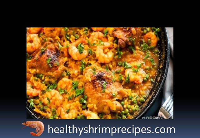 Rice with chicken and shrimp
