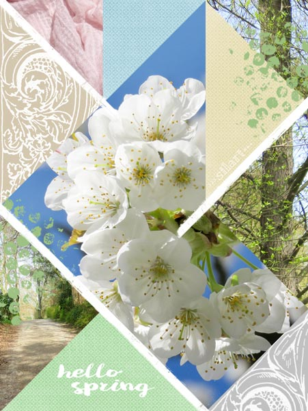 hello spring, moodboard, Frühlingsstimmung