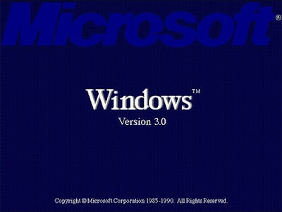 Windows 3.0 Screen
