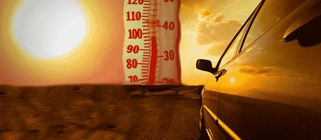 نصائح القيادة في فصل الصيف