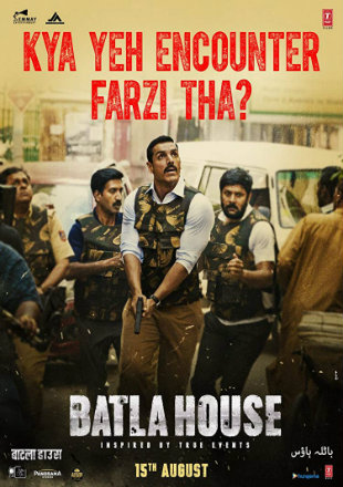 Batla House 2019 Full Hindi Movie Download HDRip 720p