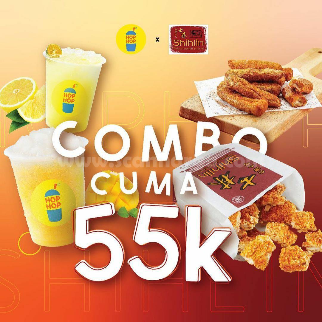 PAKET COMBO HEMAT SHIHLIN x HOPHOP Harga cuma Rp. 55.000