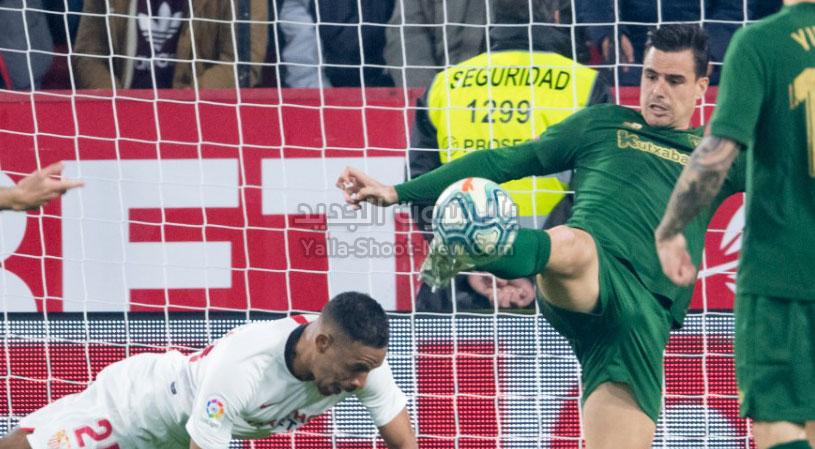 أتلتيك بلباو يفرض التعادل الاجابي على اشبيلية في الجولة 19 من الدوري الاسباني