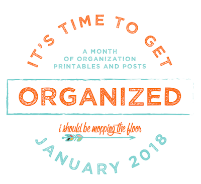 Getting Organized in 2018