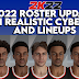 NBA 2K21 2022 Roster Update With Realistic Cyberfaces and Lineups