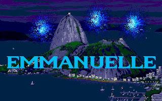 Emmanuelle, videojuego erótico de los 80