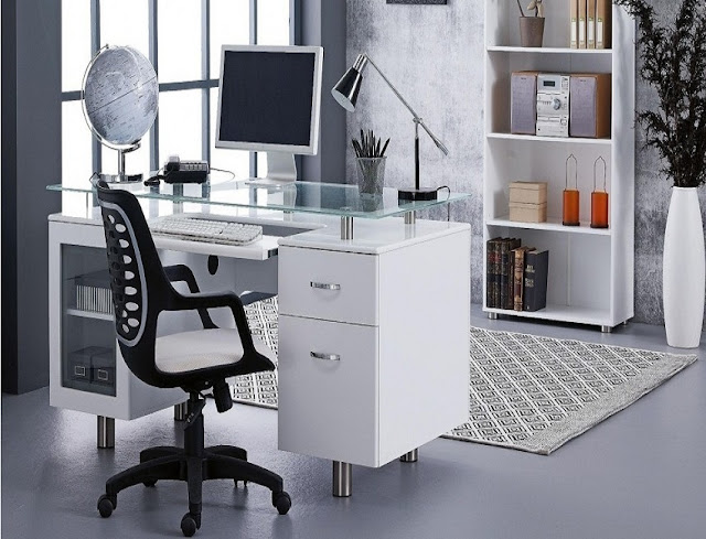 best modern home office furniture design layout ideas pictures