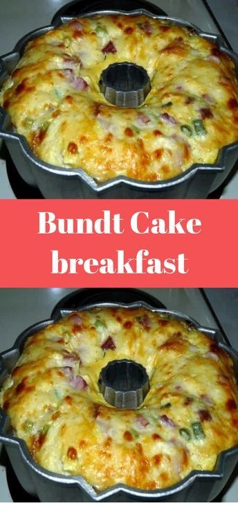 Bundt Cake Breakfast