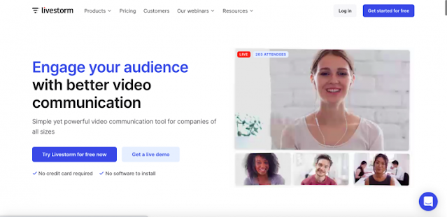 Livestrom hd video online webinar free software