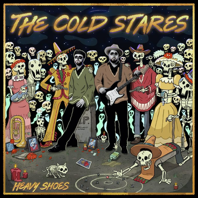 ARCADIA NEGRA: THE COLD STARES.- HEAVY SHOES ( 2021)