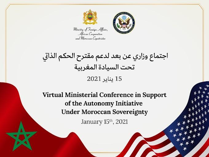 Marruecos invita a 40 países a una conferencia virtual para persuadirles sobre el plan de autonomía.