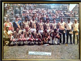 Volta Redonda Campeão 2a Divisão de 1987