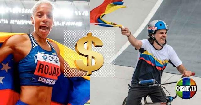 Le ofrecieron 50.000 dólares a Yulimar Rojas si le dedica sus triunfos a Hugo Chavez