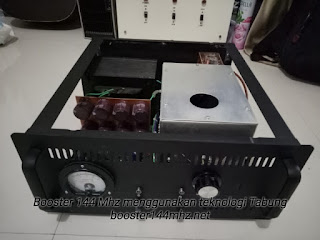 Produk Booster 144 Mhz menggunakan Tabung