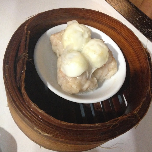 Quail's egg shao mai at Harbour City Dimsum