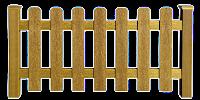 Grade de madeira em PNG