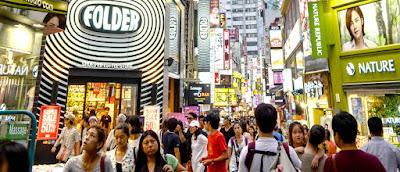 Berbelanja di Korea