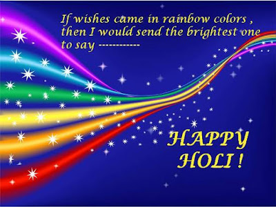 Happy Holi Greetings Cards