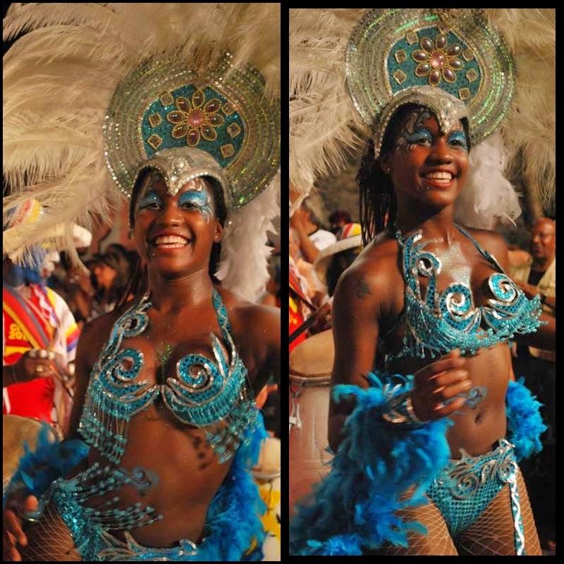 Carnaval. Desfile de Llamadas. Montevideo.Candonga Africana. 2010.