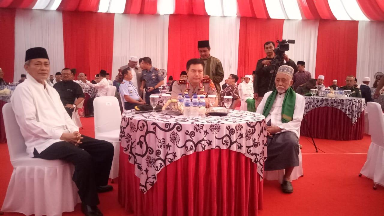 Kapolda Banten Hadiri Silaturahmi Ulama dan Umaro Seprovinsi Banten