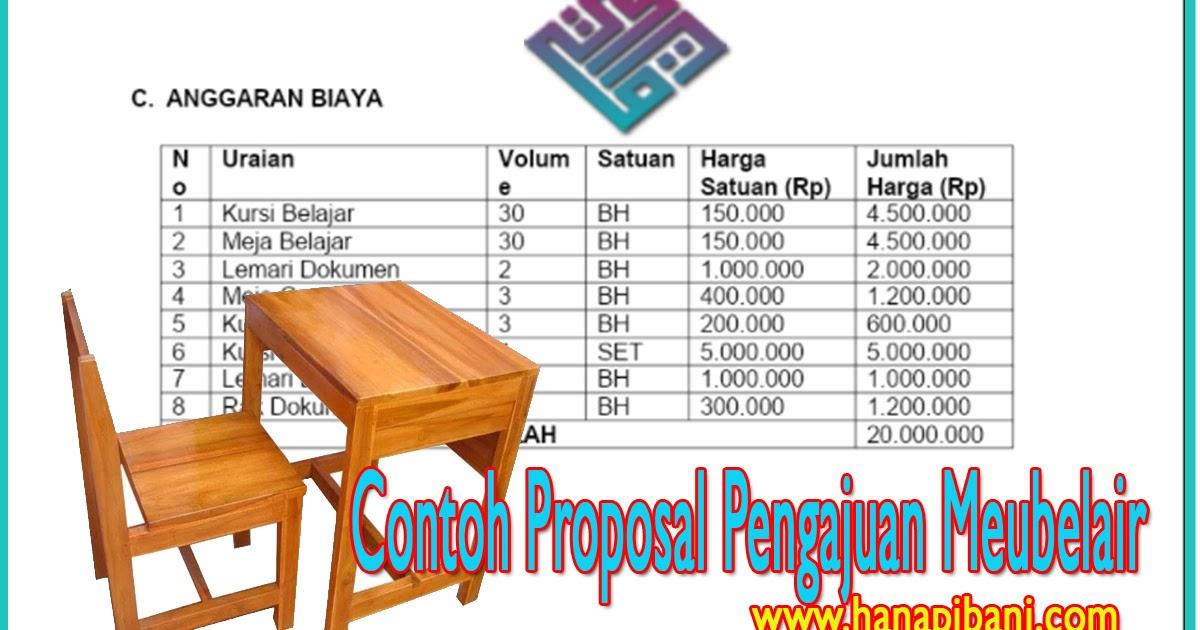 √ √ Contoh Proposal Pengajuan Meubelair